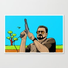 Duck Hunting On Shabbos Canvas Print