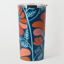 Flower Power IV Travel Mug