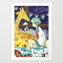 Playhouse Galaxy Art Print
