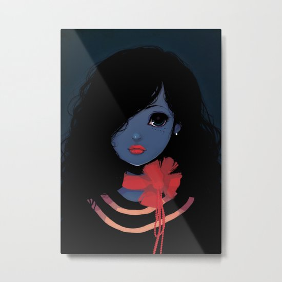 Blue. Metal Print