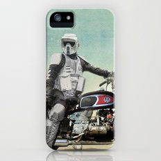 Looking for the drones, Scout Trooper Motorbike Slim Case iPhone SE