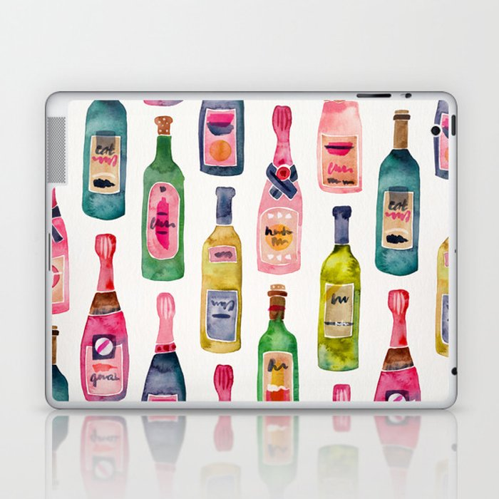 Champagne Collection Laptop & iPad Skin