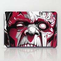 frankenstein iPad Cases featuring frankenstein by don motta