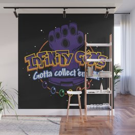 Collect 'em all! Wall Mural