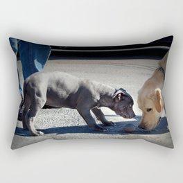 Just Wanna Play Rectangular Pillow