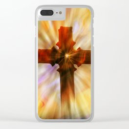 The Cross Clear iPhone Case