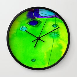 Magical Thinking No. 2M by Kathy Morton Stanion Wall Clock