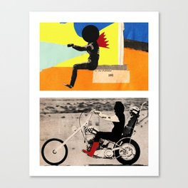 Run to me Canvas Print