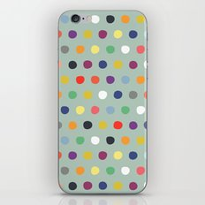 petite multi spot iPhone Skin