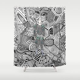 Heroes Fashion 5 Shower Curtain