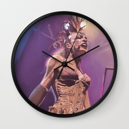 Emilie Autumn Wall Clock