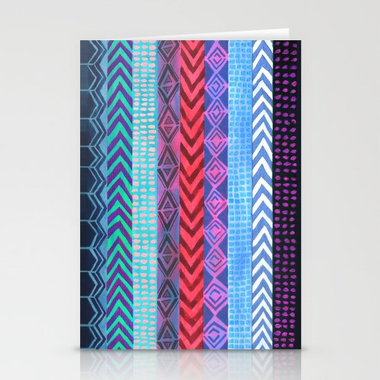 PATTERN {Peru Stripe} Stationery Cards