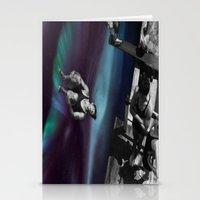 vertigo Stationery Cards featuring Vertigo by icontrive