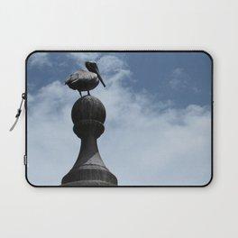 Pelican Posing in San Juan Laptop Sleeve