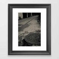 long walk home Framed Art Print