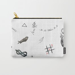 Louis's Tattoos Carry-All Pouch