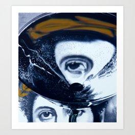 Distortion I Art Print