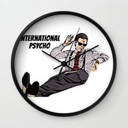 International Psycho Wall Clock