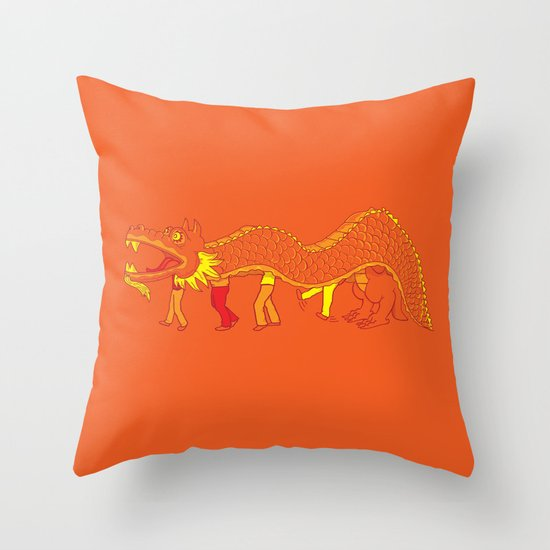 Clever Disguise Throw Pillow
