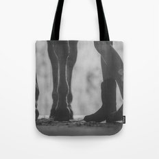 boots hooves + bows Tote Bag