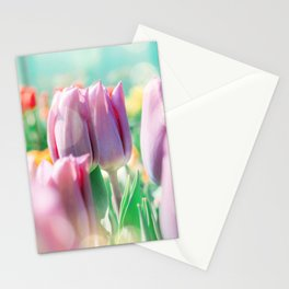 Tulips field 23 Stationery Cards