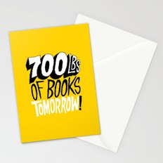 700lbs of Books Tomorrow! Stationery Cards