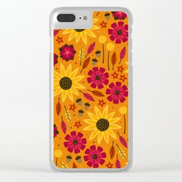 Fall is in th Air Clear iPhone Case