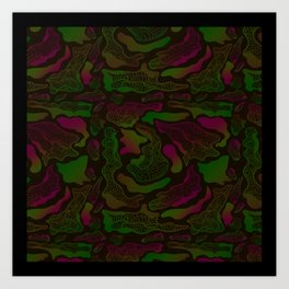 Flowform Art Print