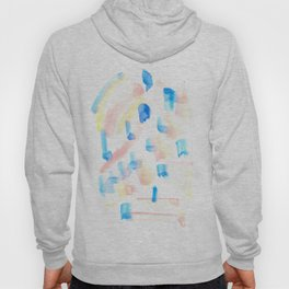 170322 Colour Study 1 |Modern Watercolor Art | Abstract Watercolors Hoody