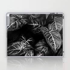 Jungle leaf - midnight Laptop & iPad Skin