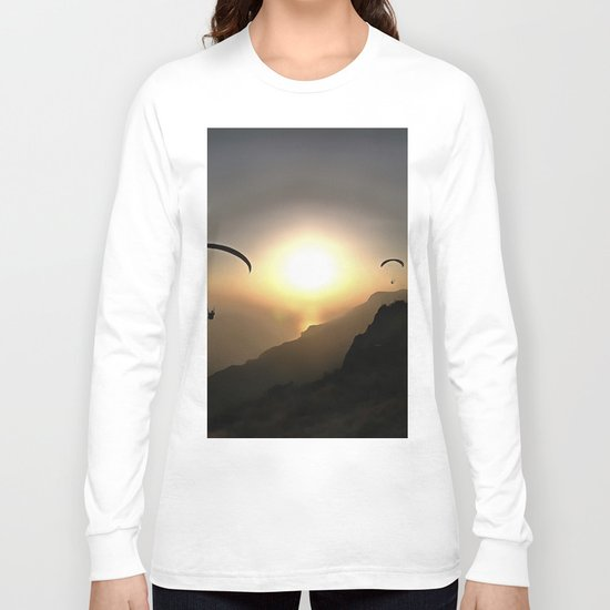 Paragliders Flying Without Wings Long Sleeve T-shirt