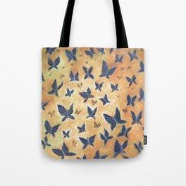 Iron Butterflies Tote Bag