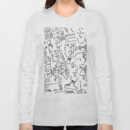 ten faced Long Sleeve T-shirt