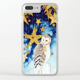 Star keeper Clear iPhone Case