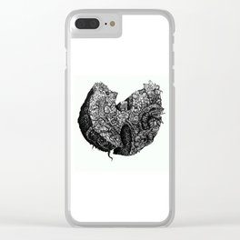 Wu-Tang Ain't Nuthin to F' Wit - B&W Clear iPhone Case