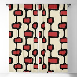 Mid Century Shapes 1 Blackout Curtain