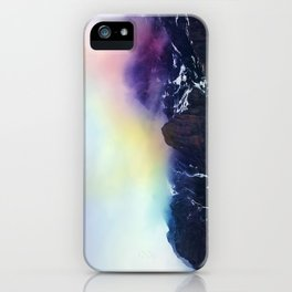 Mountain of Color Fog iPhone Case