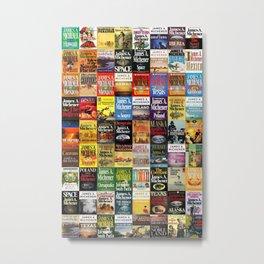 Michener Books Metal Print