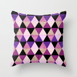 Heavy Pink Throw Pillow