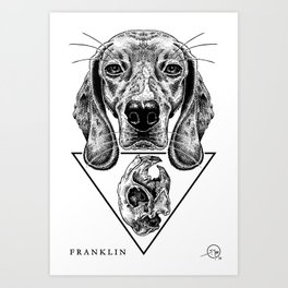 FRANKLIN Art Print