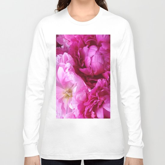 Peony Dreams Long Sleeve T-shirt