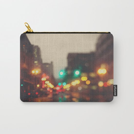 Portland In The Rain Carry-All Pouch