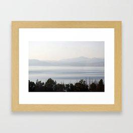 Sea of Galilee (Kinneret) Framed Art Print