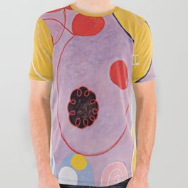 Hilma Af Klint All Over Graphic Tee