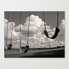 Old School Swings Canvas Print