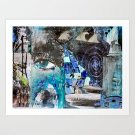 Architecture of water. or just whatever Art Print