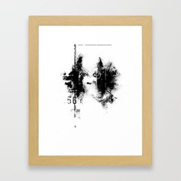 AWAKE // ASLEEP Framed Art Print