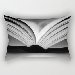 Open Book Rectangular Pillow