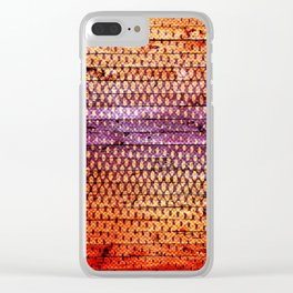Indian colors 3 Clear iPhone Case