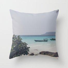 Koh Rung Throw Pillow